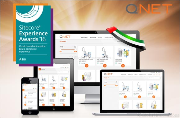 QNET Wins 2016 Sitecore Experience Award for Omnichannel Automation: Best E-commerce Experience