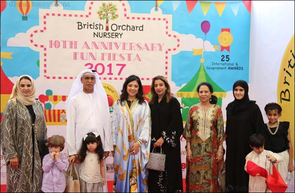 British Orchard Nursery celebrates a decade of learning with fun, fiesta and sharing