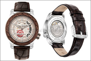 SAINT HONORE introduces the first watch made out of steel from the Eiffel Tower
