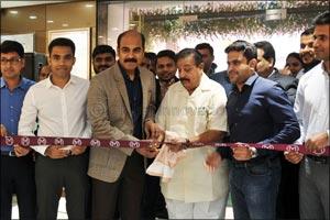 Malabar Gold & Diamonds' launched its 172nd showroom in Ballari, Karnataka, India