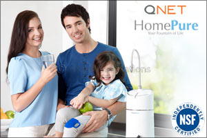 QNET Celebrates World Water Day 2017 with HomePure