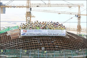 New Quality Benchmark Set During Construction of Unit 3 at the Barakah Nuclear Energy Plant