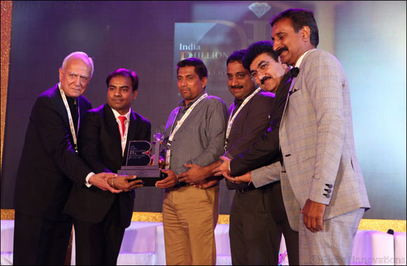 Malabar Gold & Diamonds receives 'Best Jewellery Brand Award' from India Bullion and Jewellers Association Ltd. (IBJA)