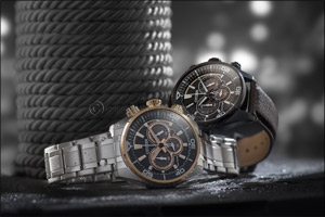 Powerful chronograph duo from Citizen