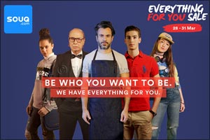 Souq.com brings back the biggest sale of the season, the �Everything For You Sale'