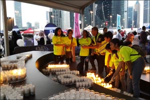 Earth Hour 2017 - Youth call for a zero carbon future
