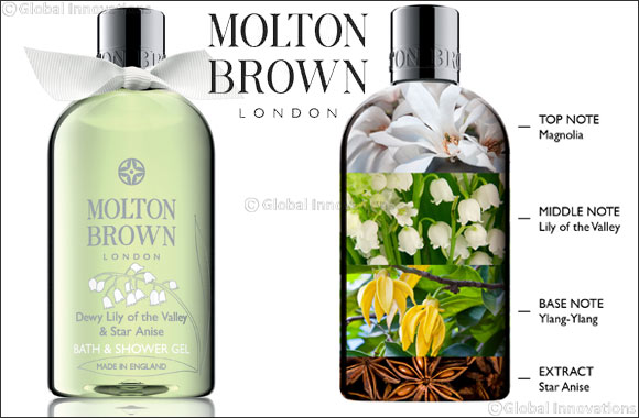 Molton Brown Launches the Spring Collection Dewy Lily of the Valley & Star Anise London via Cornwall