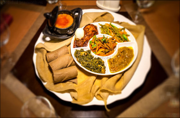 Gursha, a family-friendly Ethiopian restaurant, brings authentic flavours to the UAE