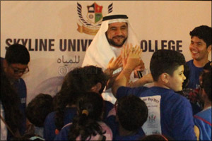 SEWA Chairman Dr. Rashid Al Leem Graced SUC UN-World Water Day Celebration