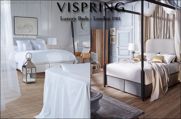 Intercoil International launches luxury brand Vispring in the Middle East: redefines idea of luxurious comfort and untroubled sleep