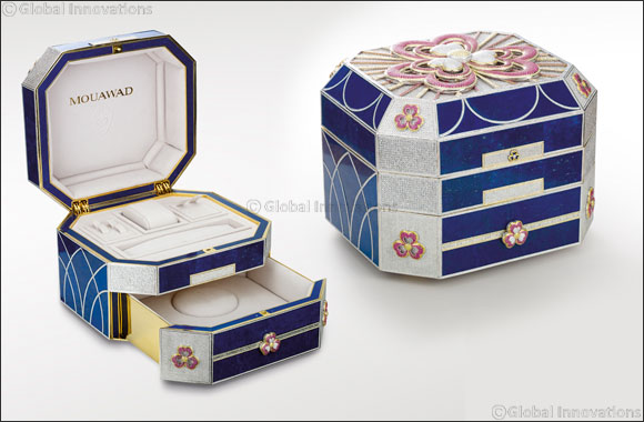 The Mouawad Flower of Eternity Jewellery Coffer