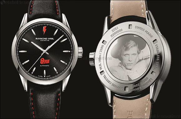 RAYMOND WEIL Celebrates the Genius of David Bowie Limited Edition Freelancer