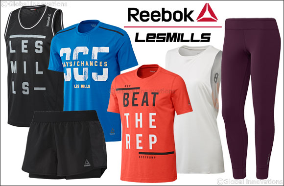 Reebok Les Mills™ New Launch products and promotion for this month