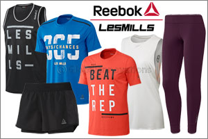 Reebok Les Mills� New Launch products and promotion for this month