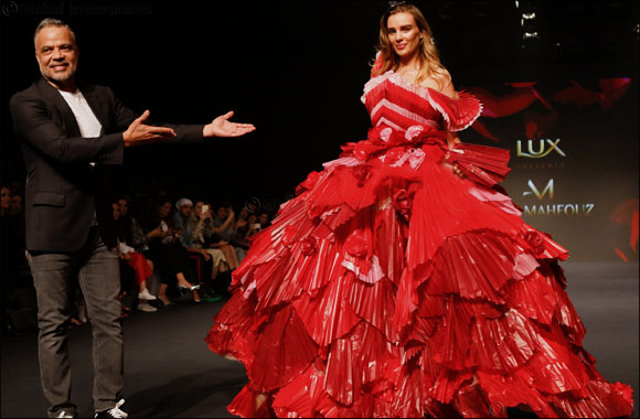 Abed Mahfouz reveals the first ever soap dress inspired by Lux