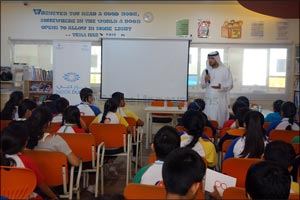 MBRSC visited Ambassador School as a part of the Year of Giving initiatives