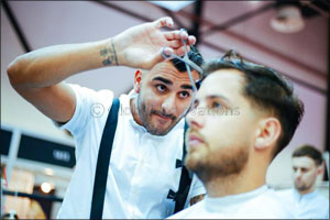 UAE's finest barbers square off in live competition at Beautyworld Middle East 2017