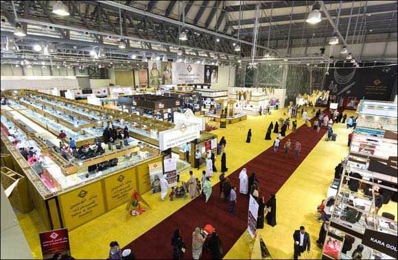 Platinum Sponsor Salem Al Shueibi adds shine to Sharjah Jewellery show