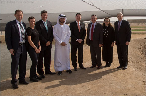 Etihad Airways and Boeing Check on Biofuel Progress at Masdar