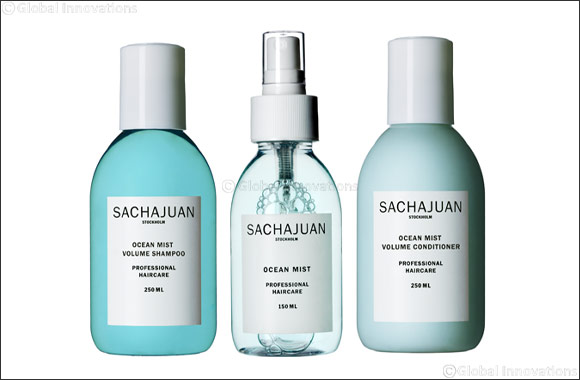 Care for your hair this summer with SACHAJUAN's Ocean Mist Range