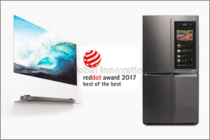 LG wins dual �Best of the Best� in this year's Red Dot Awards