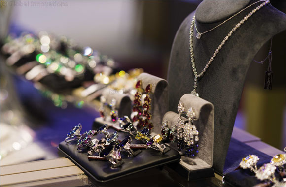 """The Italian Luxury Jewellery"" at the MidEast Watch and Jewellery Show."