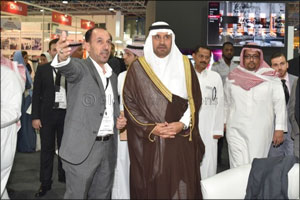 Mohammad A. Al-Amri, GM of the SCTH in Makkah Province, Jeddah opens The Hotel Show Saudi Arabia and ...