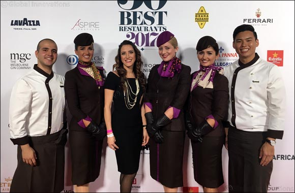 Etihad Airways plays host to The World's 50 Best Chefs in Australia