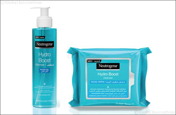 The ultimate cleansing duo from Neutrogena's® Hydro Boost Range