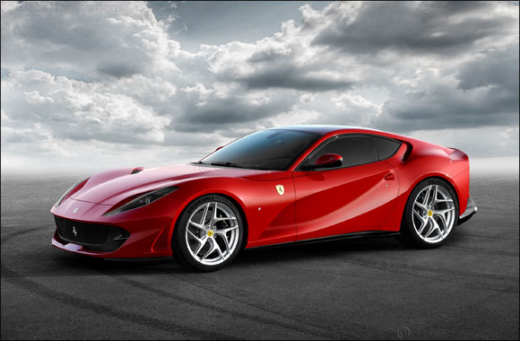 Ferrari 812 Superfast arrives in the UAE