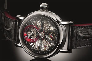 Flying Grand Regulator From Chronoswiss Is A Study In Masterful Minimalization