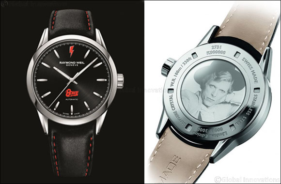 "Raymond Weil Celebrates the Genius of David Bowie Limited Edition Freelancer ""David Bowie"", An Everlasting Legend"