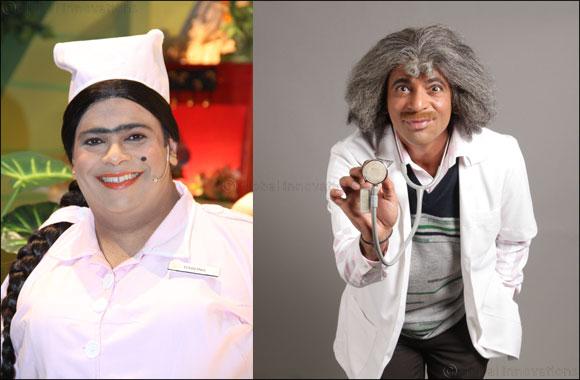 Dr. Mashoor Gulati's Comedy Clinic in Dubai on April 20th