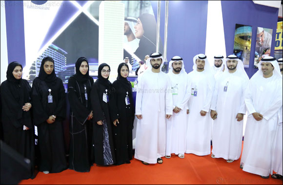 His Highness Sheikh Mansoor bin Mohammed bin Rashid Al Maktoum tours Careers UAE 2017