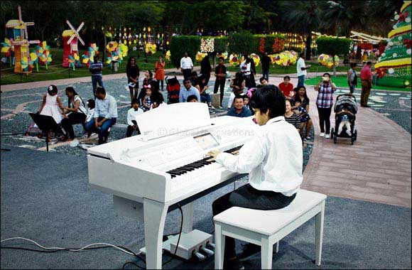 Dubai Garden Glow hosts children's musical evenings on weekends