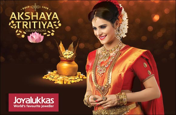 Bring Home Gold luck this Akshaya Tritiya at Joyalukkas