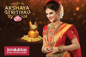 Bring Home Gold luck this Akshaya Tritiya at Joyalukkas