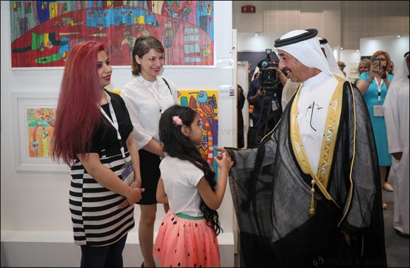 His Highness Sheikh Hasher bin Maktoum Al Maktoum opens Third Edition of World Art Dubai