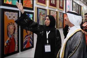His Highness Sheikh Hasher bin Maktoum Al Maktoum opens Third Edition of World Art Dubai