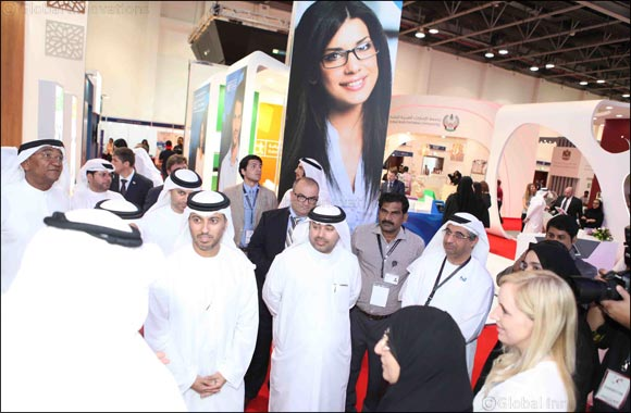 Ahmad bin Abdullah Humaid Belhoul Al Falasi inaugurates Gulf Education and Training Exhibition 2017