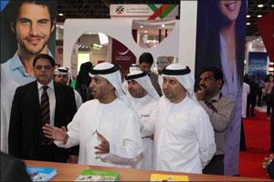 Ahmad bin Abdullah Humaid Belhoul Al Falasi inaugurates Gulf Education and Training Exhibition 2017