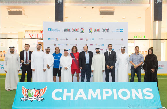 du Football Champions awarded Gold for its successful engagement of UAE youth