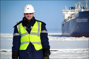 World's first reinforced Arc7 class LNG carrier maiden port calls go smooth as ice, thanks to GAC Ru ...