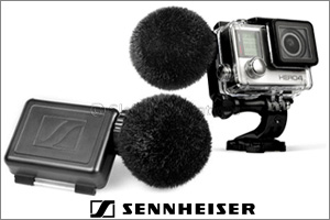 Take a sound adventure with the New Action Mic for GoPro� from Sennheiser