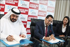 Jafza and Danube Group to develop employee skills in free zone