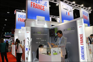 French companies will introduce their latest offer on the French Pavilion at Seamless Middle East, 1 ...