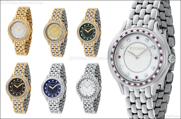 ESCADA Amelia - Diamond timepiece