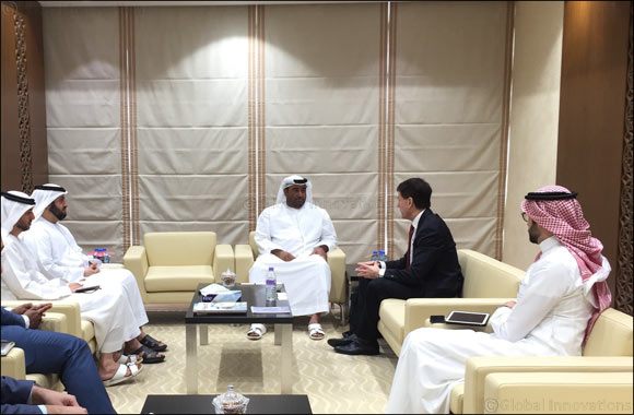 HE Rashed bin Lahej Al Mansoori receives Michael J. Saylor President & Chairman of MicroStrategy to discuss opportunities for cooperation