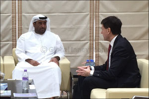 HE Rashed bin Lahej Al Mansoori receives Michael J. Saylor President & Chairman of MicroStrategy to  ...