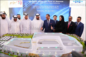 H.H. Sheikh Ahmed lays foundation stone of Silicon Mall at Dubai Silicon Oasis
